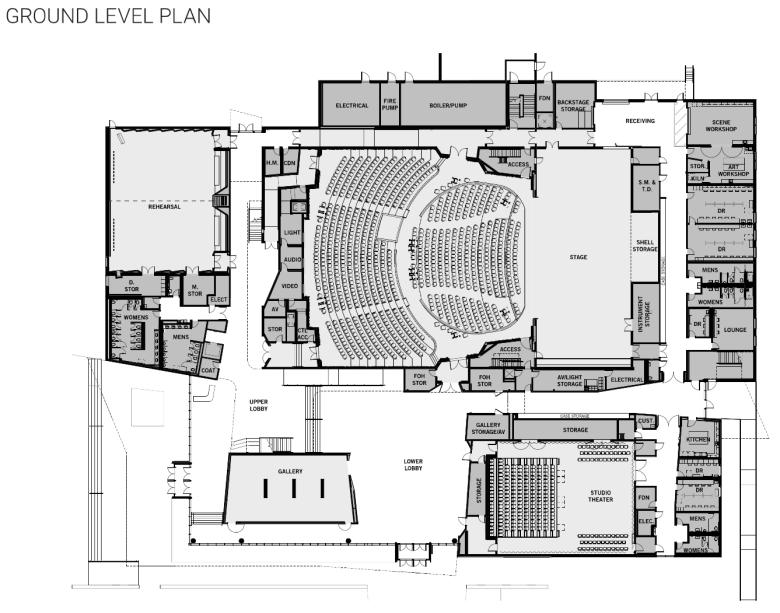 plano independent school district fine arts center, plano, texas, pisd