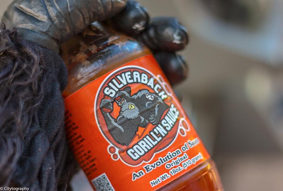 Silverback Gorill'n Sauce, barbecue, plano, texas, texas-made