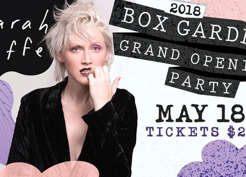 sarah jaffe, the box garden, legacy hall, legacy west, plano, texas