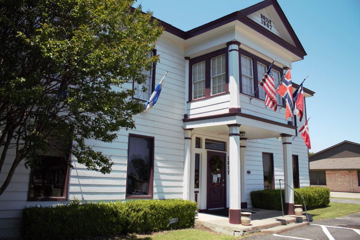 The Wooden Spoon, an unusual Scandinavian shop at downtown Plano, texas
