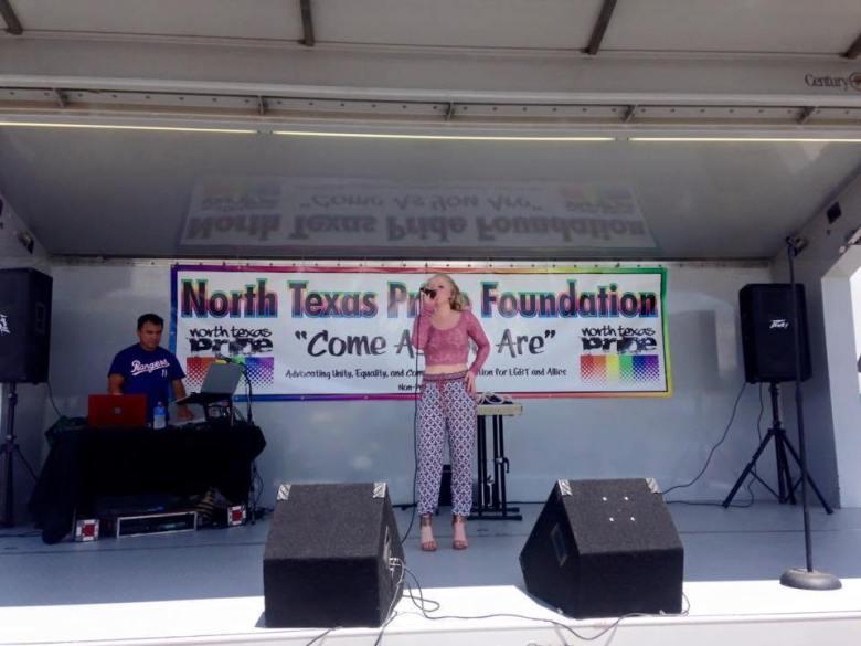 north texas pride festival, north texas pride foundation, plano, historic downtown plano, haggard park, saigling house, hollie cavanagh, american idol