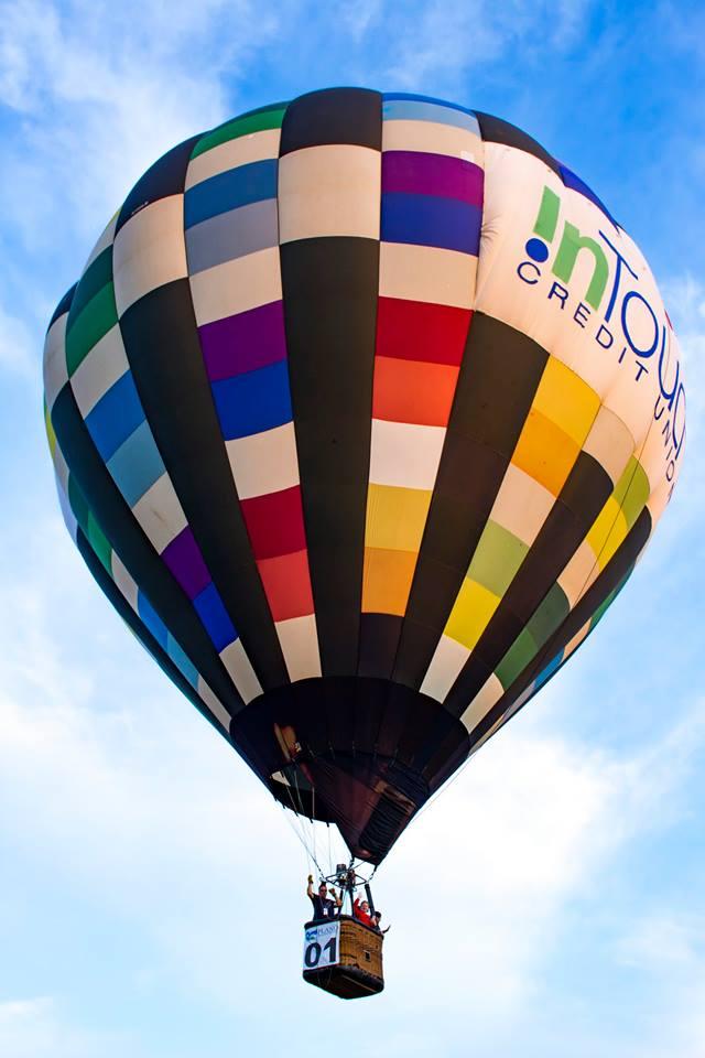 intouch credit union, plano balloon festival
