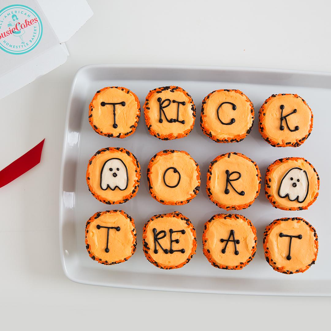trick or treat cupcake