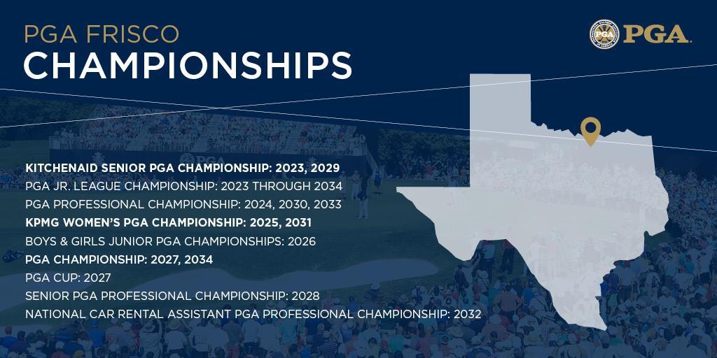 PGA, pga of america, frisco texas, championships