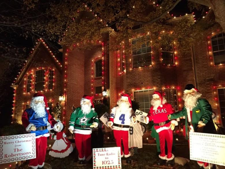 deerfield, plano, christmas lights, holiday
