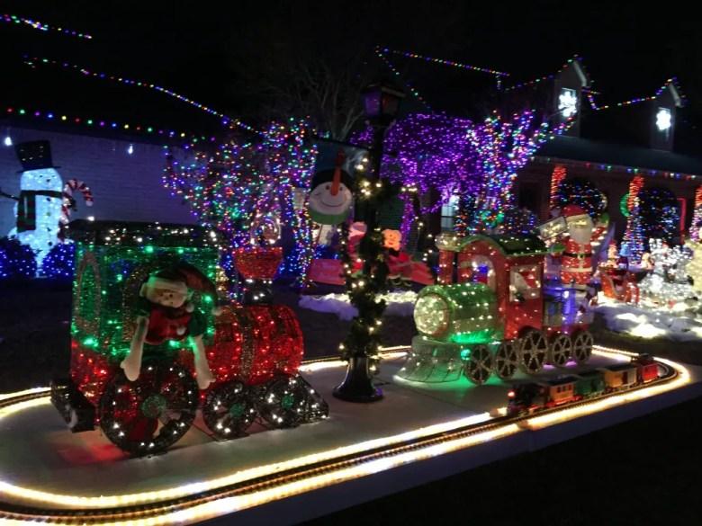biscayne drive, holiday christmas lights plano, texas