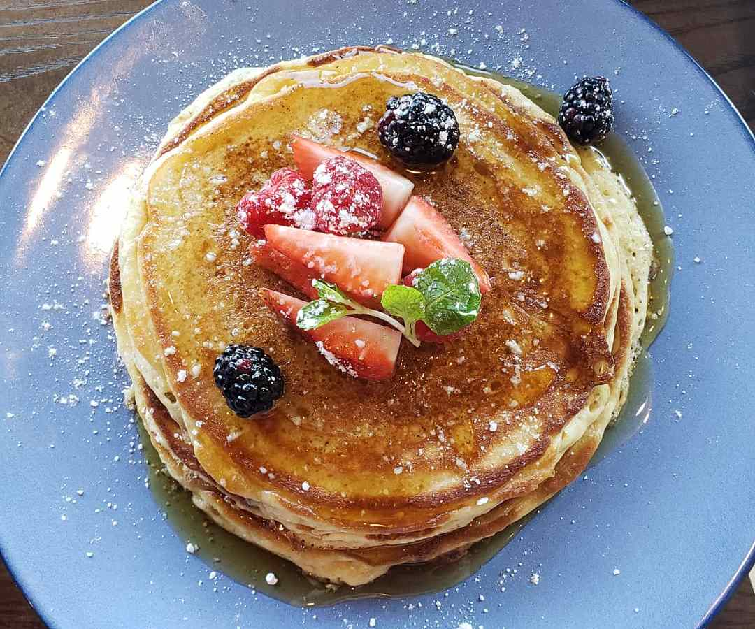 Pancakes from Knife Plano at The Shops at Willow Bend, Plano