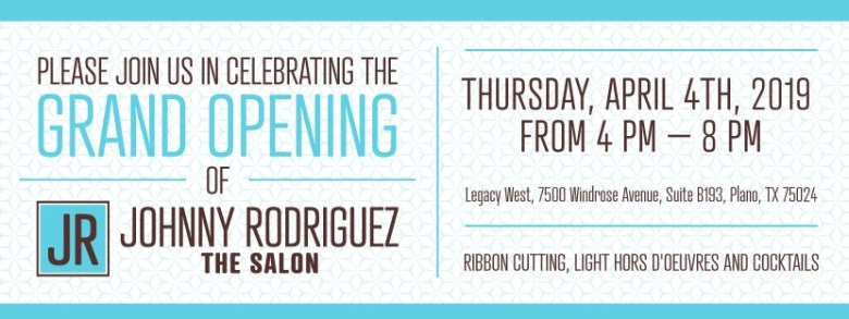 Johnny Rodriguez The Salon Legacy West
