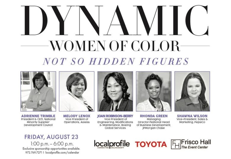 dynamic women of color
