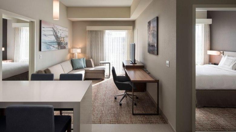 residence inn two bedroom suite2