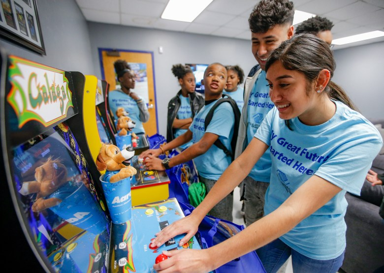 aaron s and boys girls clubs of america plano teen center refresh plano tx 2