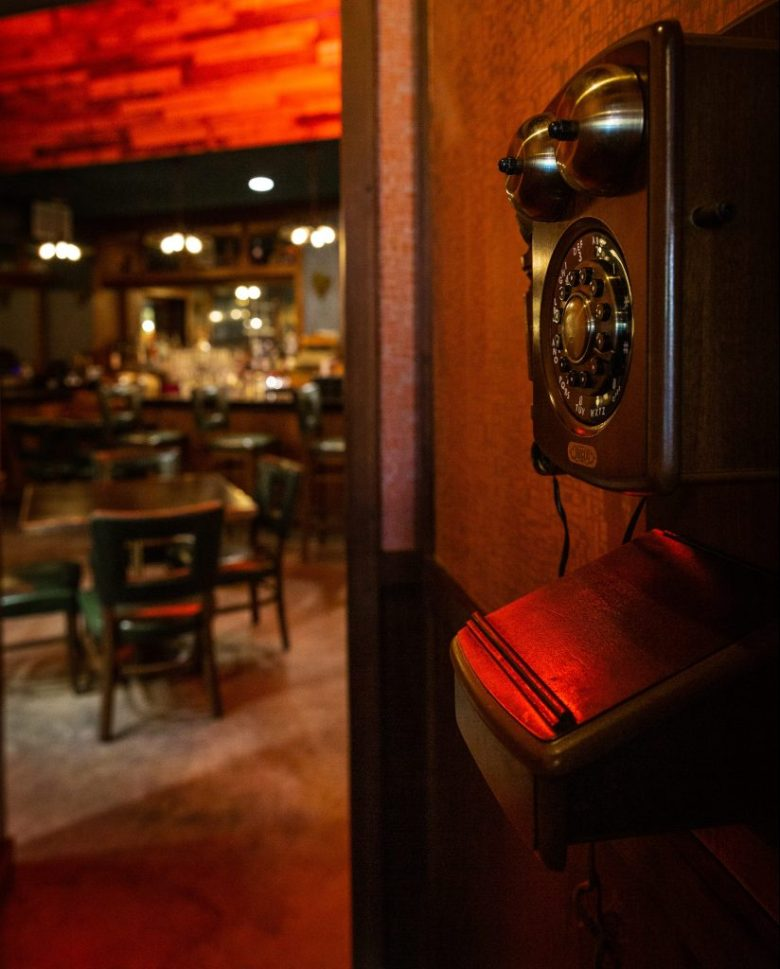 denton prohibition chicken volstead room