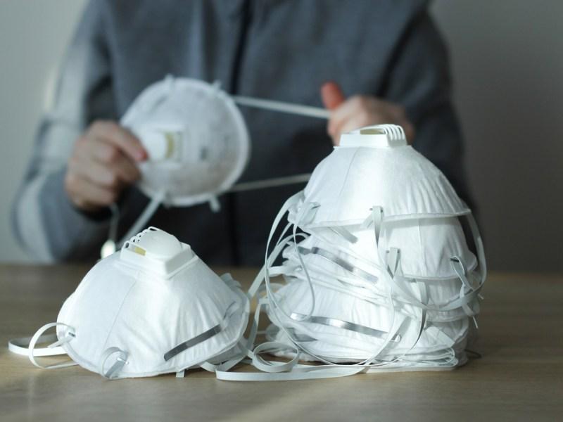 respirator masks in time of coronavirus