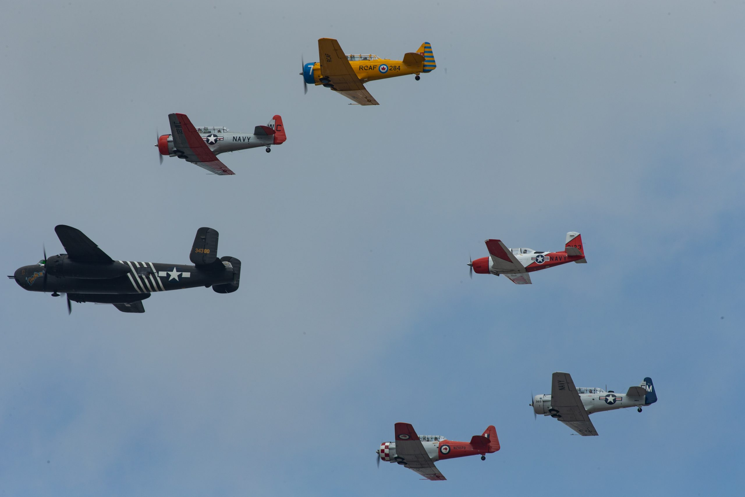 Addison's 'Salute to Heroes' Takes to Plano's Skies with Rare, Vintage Aircraft