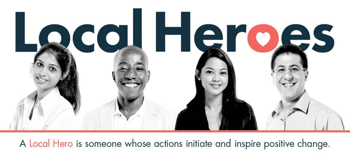 local heroes webpage graphic header
