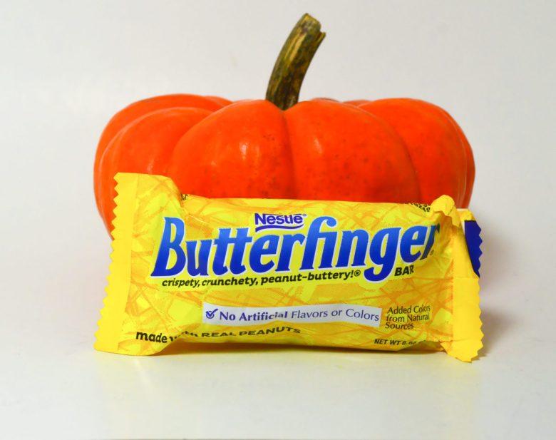 halloween homade butterfingers