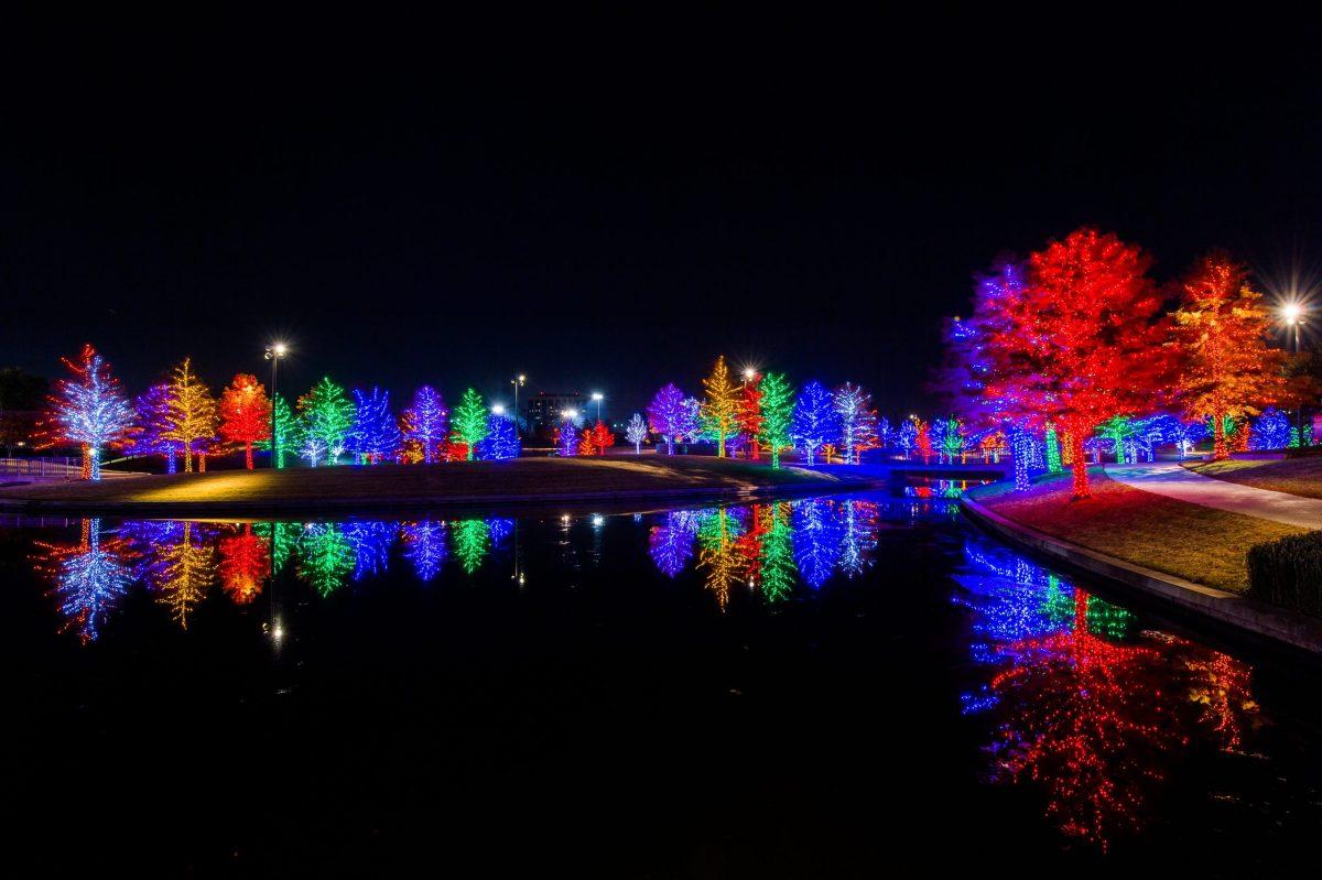 Vitruvian lights holiday events