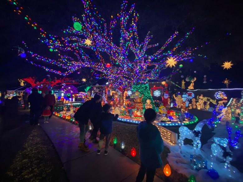 Plano Christmas lights