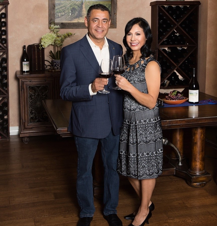 Ramon Guerrero and Sandra Guerrero