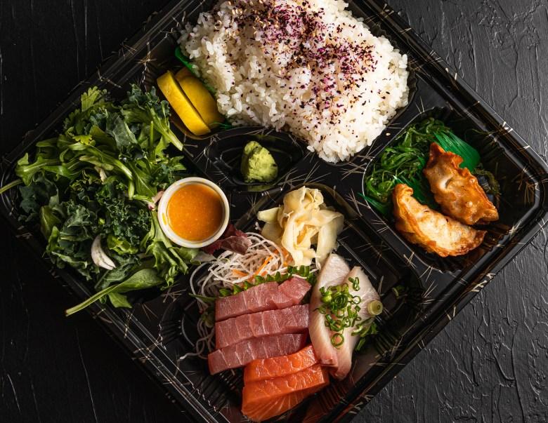 plano cheap eats ebesu sushi bento box
