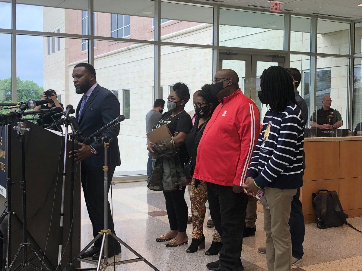 Marvin Scott III press conference