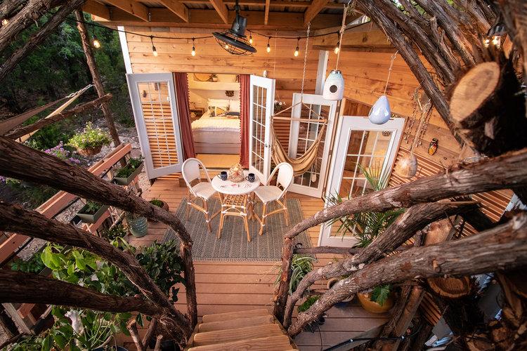 the nest skybox cabins texas
