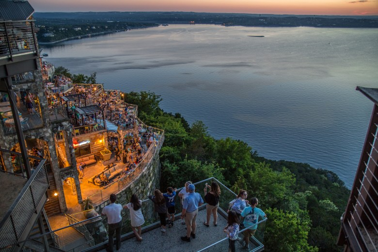 dusk at lake travis, one of the most decked out of the texas lakes! | courtesy of lake travis' website