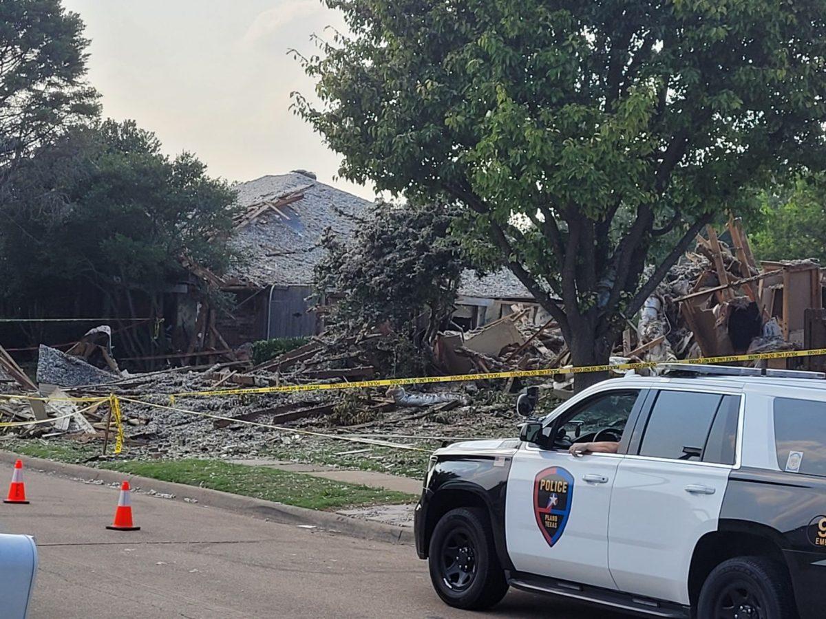 police at scene of plano home explosion | jordan jarrett