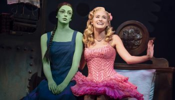 """Allison Bailey & Talia Suskauer in the North American Tour of WICKED (D). An """"August to do"""" for sure! 