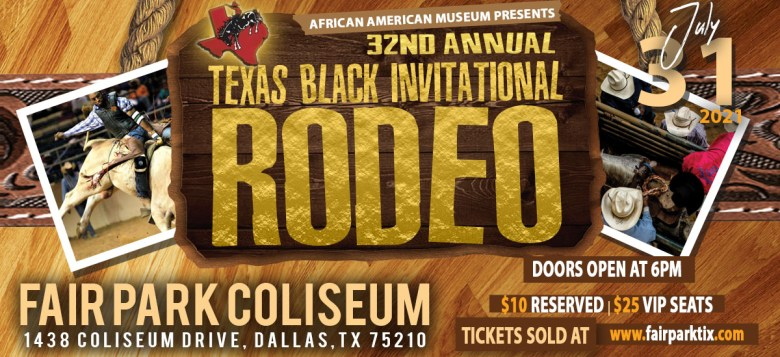 the texas black invitational rodeo promises to be an exciting thing to do this weekend! | fair park