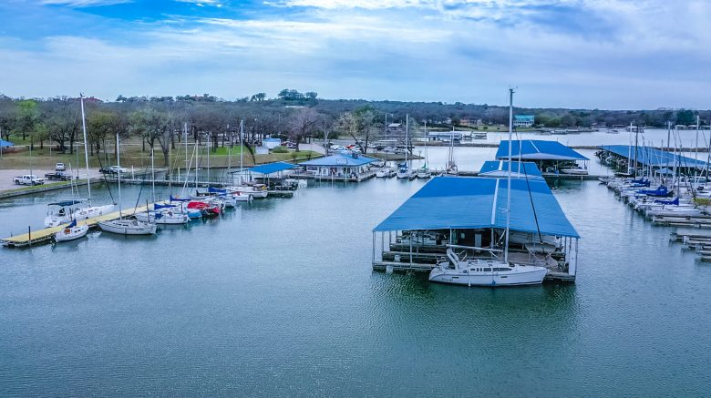 eagle mountain lake is another one of the clearest texas lakes! | courtesy of eagle mountain lake marinas