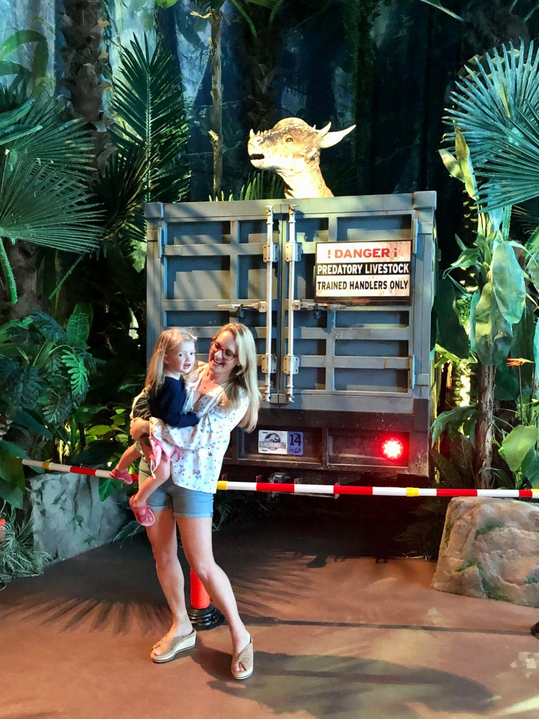 attend jurassic world: the exhibition. it's an exciting adventure to do this weekend with your whole family!