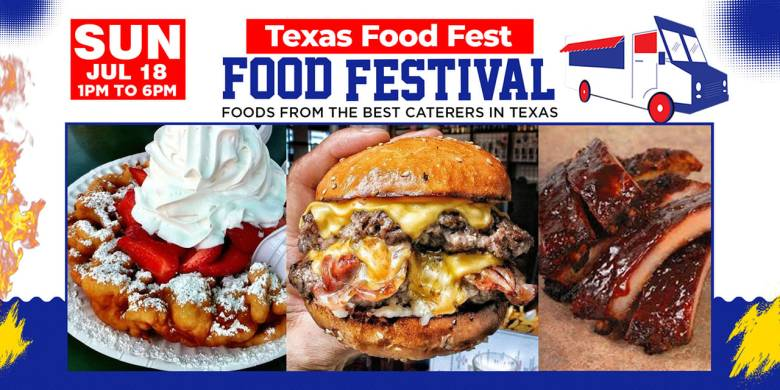 the texas food fest is back, and it promises to be the tastiest thing you could do this weekend! | photo courtesy of texas food fest's facebook event page