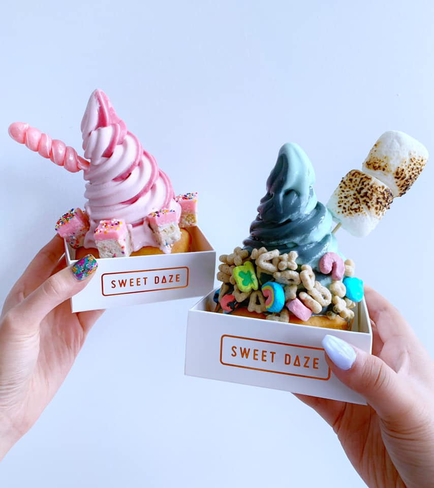 one of the cutest ice cream shops!   photo courtesy of sweet daze dessert bar on facebook