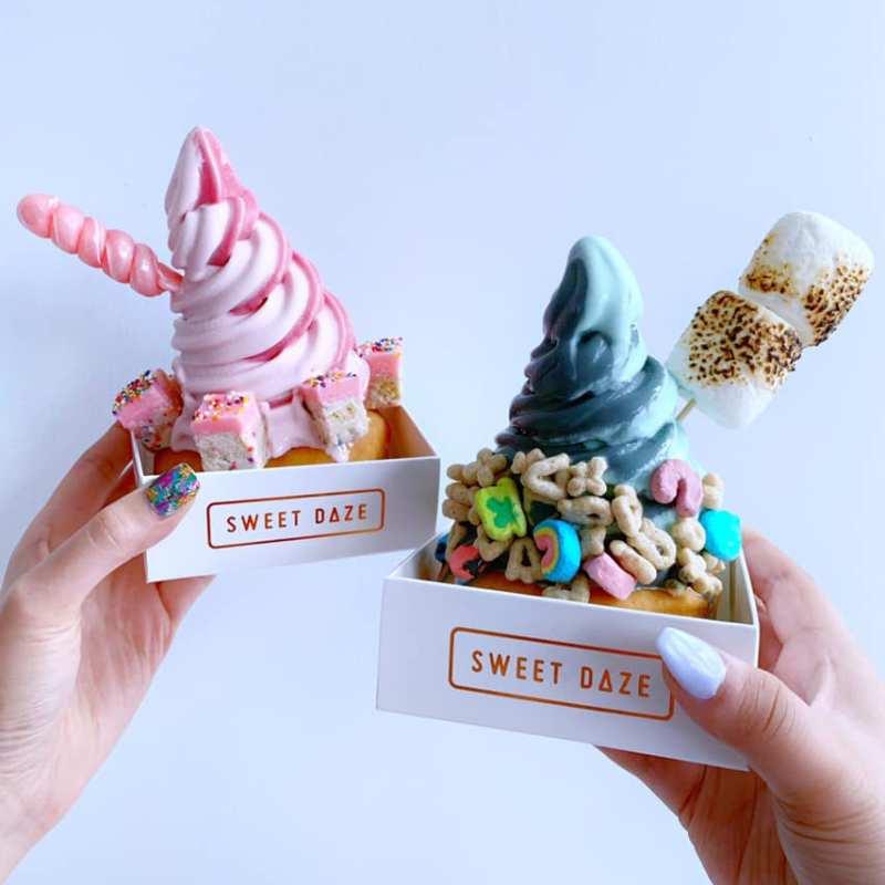 one of the cutest ice cream shops! | photo courtesy of sweet daze dessert bar on facebook