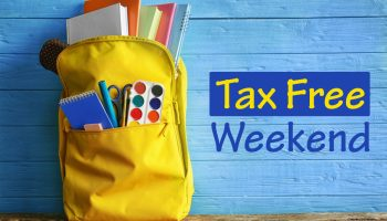 Are you ready for the tax free weekend?