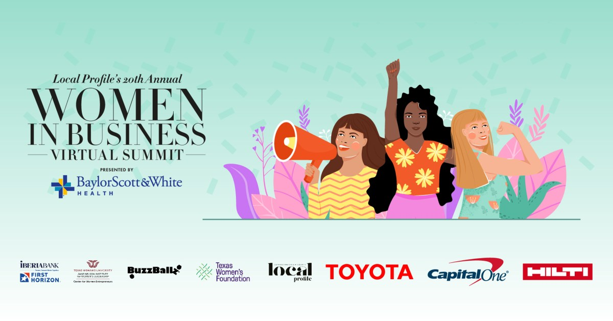 local profile presents the 20th annual women in business virtual summit!