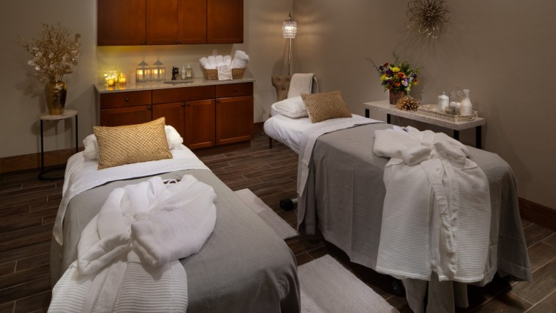 the spa at the jl bar ranch, resort & spa awaits after a day of adventuring.