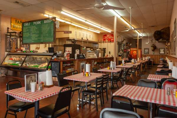ye olde butcher shop has been run by various generations of the sparks family. check out more of the best butcher shops in plano!   courtesty of ye olde butcher shop