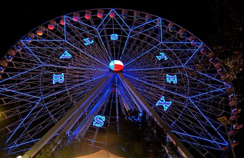 the Texas Star® Ferris Wheel ... a Texas staple!  |  wikimedia commons