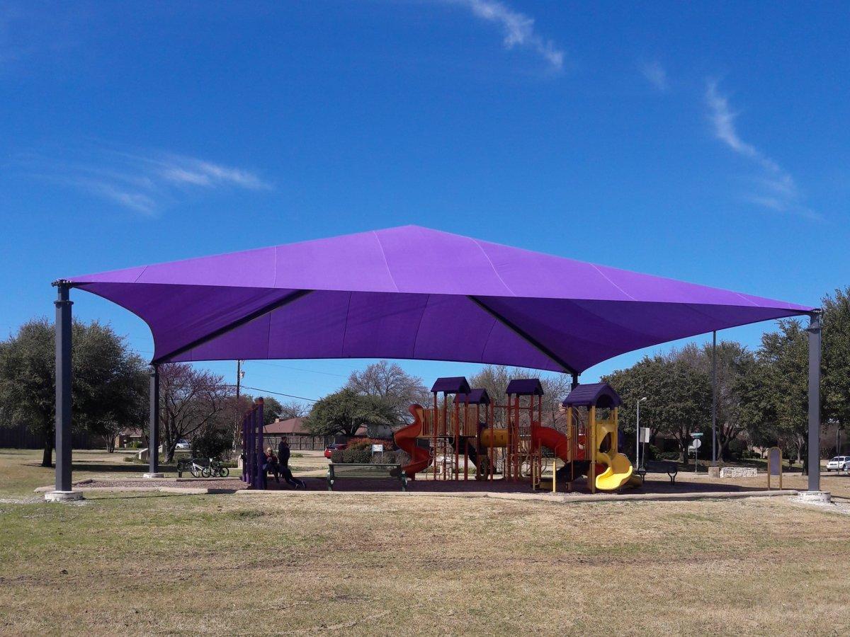 shaded playground, reed park west, allen, allen playgrounds, best playgrounds