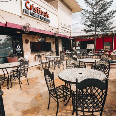 cristina's fine mexican is just one of the great mckinney patios we found!