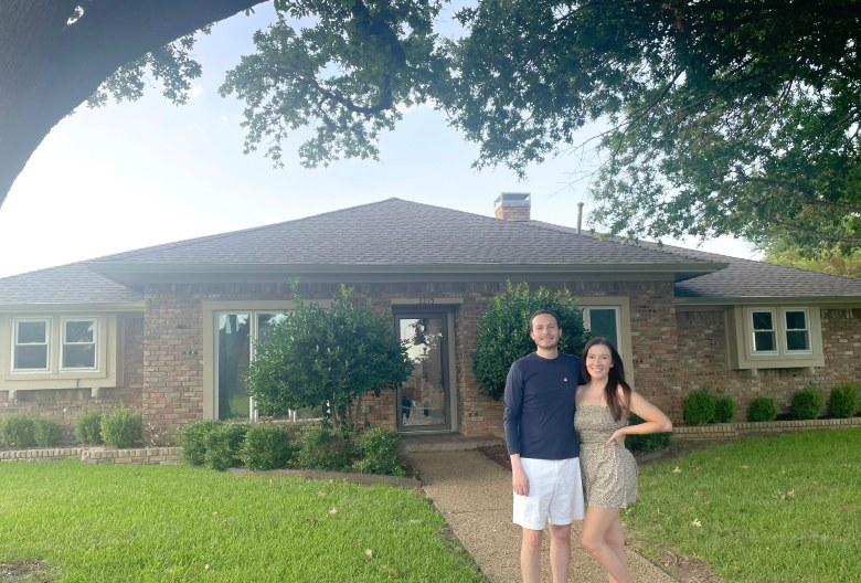 christy and her husband santiago... as homeowners! they learned so much about home buying and have several tips to share.