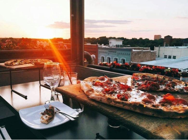 urban crust, plano restaurants, downtown plano, historic downtown plano, best patios, plano patios, best patios in plano, best pizza