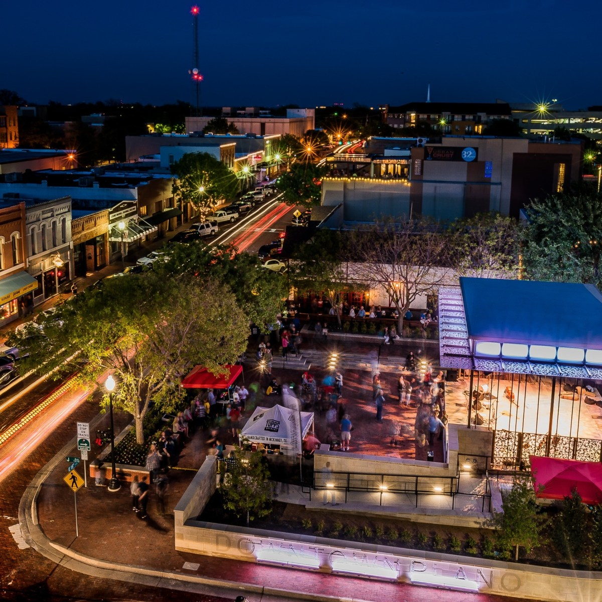 view of downtown plano. | david downs