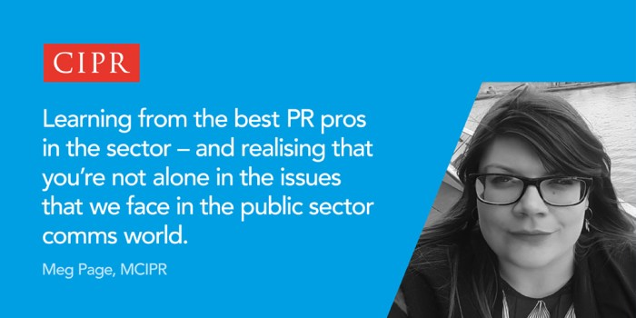 Meg on why she is a CIPR volunteer