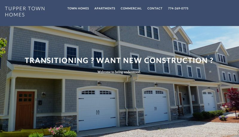 Tupper Town Homes Homepage