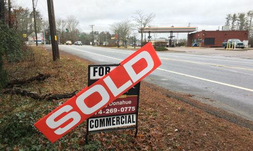 SOLD: Commercial zoned ranch at an intersection in West Wareham