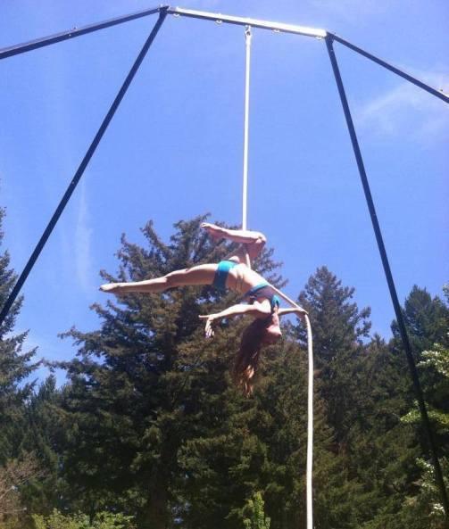 aerial performance circus art santa cruz