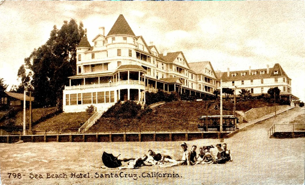 Seabright Sea Beach Hotel Jun 13 2012 postcard front